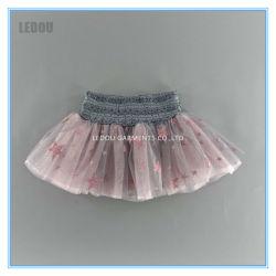 Ballett-Kleid der Funkeln-Stern-Drucken-Bogen-Tanz-Rüsche-Prinzessin-Fluffy Tutu Skirts Costumes
