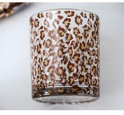 Mosaico Portavelas de cristal de vidrio impreso personalizados taza velas
