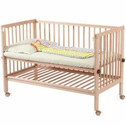 Beuken Hout Peuter Bed Baby Houten Bed Met Veiligheidsdeur Verstelbaar