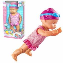 Novíssimo Bonecas Battery-Operated B/o bebê de Natação (10334209)