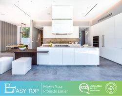 Модульный глянцевый белый шкаф раковину Cabinetry светодиодный индикатор плоского Pack кухонным шкафом