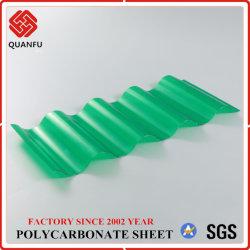 China Quanfu alta qualidade em policarbonato Papelão Ondulado folha da Sun para a construção
