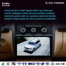 Banheira de venda de automóveis Universal Alarme para carro Estacionamento sem fio Sensor com carro Caixa Preta do Sistema de Câmara Monitor LCD & Câmara HD Bird Visualizar Car DVR Gravador de vídeo o GPS