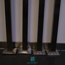 Post van de Baluster van de Leuning van het roestvrij staal de Post