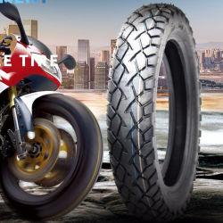 20 ans usine ISO9001 20000 Km garantie, tous les professionnels de terrain/Qualité Haute Performance Tubeless/Tube/pneus à bandage en caoutchouc de moto (DS107 110/90-16)