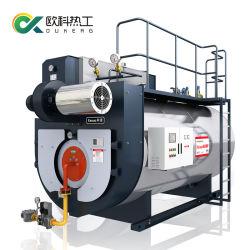 大きい炉によってLPGの任意選択自然なガス燃焼の蒸気ボイラ4t/H 1-25のトンを凝縮させる背部産業商業Ultro低い窒素化合物をぬらしなさい