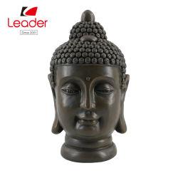 Estatua de la cabeza de Buda Polyresin para el Hogar y Jardín Decoración