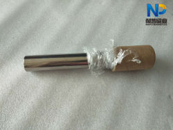 Aleación de titanio cubierto de la barra magnética con un diámetro de 25mm y 32mm