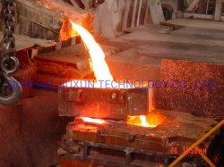 Kupferne Anoden-schmelzende u. werfende Zeile