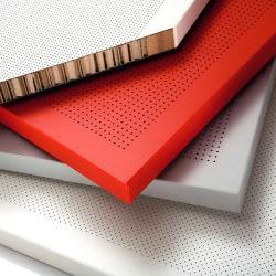 L'aluminium panneau composite Honeycomb pour revêtement mural et la décoration