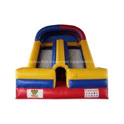 Diapositiva inflable túnel Saltar castillo hinchable de juguete para el Parque de Atracciones