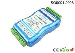 Large RS-232/485 d'alimentation hors de l'acquisition du signal analogique isolée du convertisseur A/D avec la détection de température