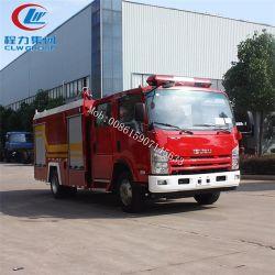 Camion dei vigili del fuoco controllato radiofonico di Clw Isuzu, camion dei vigili del fuoco di telecomando, automobile di lotta antincendio