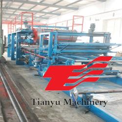 A lã de rocha/EPS painel sanduíche máquina de formação de rolos/folha do teto da linha de produção