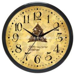 Venta caliente direcciones Reloj de pared de regalo de Navidad