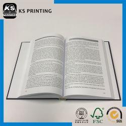 Stampa su ordinazione del documento del libro rilegato di caso di alta qualità