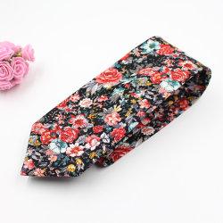 Cravatte floreali del cotone popolare di alta qualità