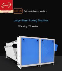 Máquina de engomar Double-Roller (o aquecimento dos cilindros) /máquina de engomar personalizáveis para o hotel/Escola