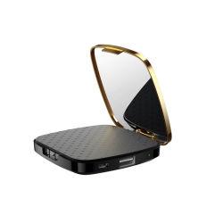 Portable 3000mAh banco de alimentação do espelho de maquiagem Cosméticos