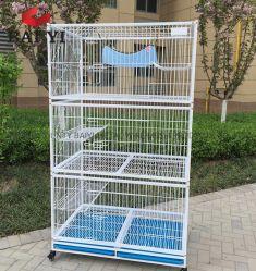 上ペット製品Foldable猫の家動物は猫をおりに入れる