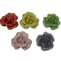 ローズの美しい陶磁器の花、ホーム装飾