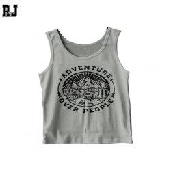 Salle de gym Shirt pour hommes d'imprimer votre logo personnalisé de vêtements de Bodybuilding Fitness Muscle Mens Sexy vestes Tank Top