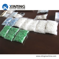 Resíduos de plástico PP Granulator Tecidos Sacola de Compras PE LLDPE LDPE Filme de HDPE de garrafa pet pedaços de flocos