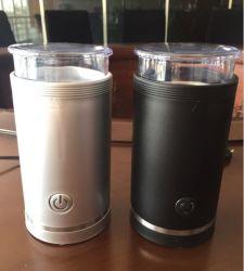 Elektrische koffiemolen, Één Molen van de Boon van de Koffie van de Knoop met Snelle Snelheid, met het Blad van het Roestvrij staal, voor de Boon van de Koffie, Korrels, Kruid, 50g 12cup