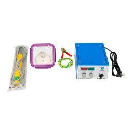 Mini-Home Use floco electrostática a pó máquina com caixa de transporte
