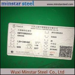 3mm d'épaisseur de tôle en acier inoxydable Prix SUS430 2b Surface