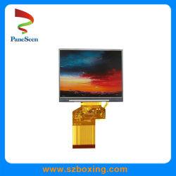 LCD TFT de 3,5 pulgadas con pantalla de 550cd/2 Alto Brillo para dispositivo portátil.