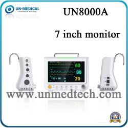 7 Inche переносной монитор пациента с помощью дополнительного вспомогательного оборудования WLAN