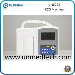 veterinario animale 3-Channel 4.3 macchina dello schermo di tocco di pollice ECG