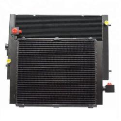 China personalizado Forjadas de Alumínio do trocador de calor Construction Machinery ar ao resfriador de óleo