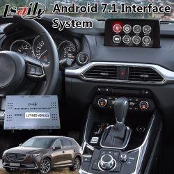 В Android Market Lsailt Car видео интерфейс для навигации 2017-2019 год Mazda CX-9 с 7.1 версии 2 ГБ оперативной памяти 32 ГБ диск
