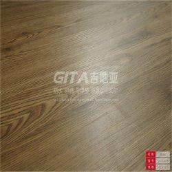Texture de bois ignifugé résistant Gitia Pierre plancher en vinyle PVC composite en plastique