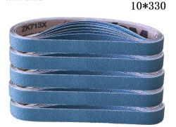 "Mini Vsm de ponçage zircone bande abrasive Zk713X 10*330, 3/8"" X 13"""
