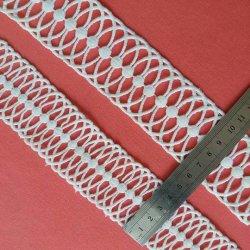 Inmediatamente es el diseño de bordado blanco 100% poliéster Chemical Puntilla Puntilla de Textiles de prendas de vestir