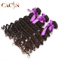 Brevi estensioni di tessitura ricce sintetiche indiane poco costose all'ingrosso dei capelli