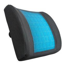 Gomma piuma posteriore più bassa Premium di memoria che raffredda cuscino lombare LC010