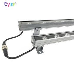 LED проекторы для наружного освещения водонепроницаемый строительный материал алюминиевый корпус RGB DMX512 контроллера 18W/24 Вт/36Вт Светодиодные Освещение на стену