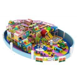 Custom для использования внутри помещений коммерческих пластиковые игровая площадка слайд оборудование детский сад с детской игровой дом для продажи