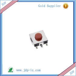 6X6X2.5h Parche Micro interruptor de botón interruptor de tacto pantalla LCD 6*6*2,5 h de la cabeza roja