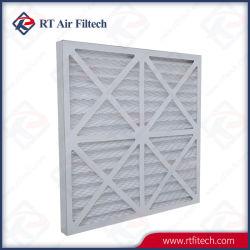 Rt Pre Filtro de aire pliegue del papel cartón Marco para la filtración de aire