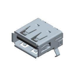 Porta universale del caricatore montata SMT di consegna di potere di dati della spina 2.0 dello zoccolo del USB