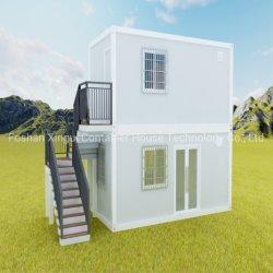 Moderner Entwurfs-Fertigbüro-Behälter-Haus mit Stahlkonstruktion