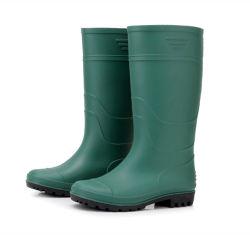 De rubber Waterdichte Laarzen van de Regen van pvc van de Teen van het Staal Goedkope