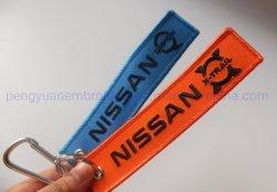 Dongfeng Nissan raggruppa la zona su ordinazione speciale del ricamo dell'automobile con il Carbine per Keychain