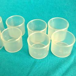 Medición de uso médico de 10ml cubeta de plástico PP