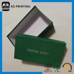 Logo personnalisé imprimé Couvercle et base Shoe Box Boîte cadeau de papier